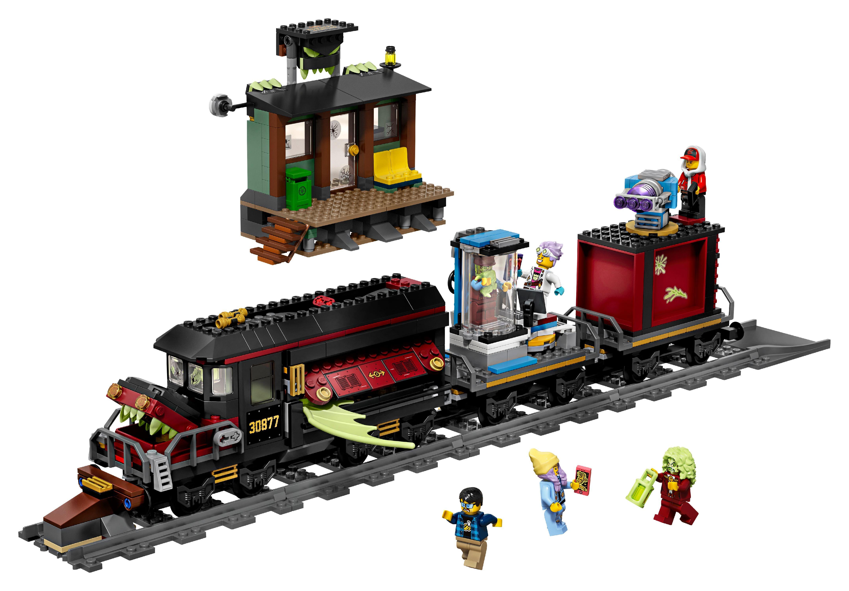 LEGO Hidden Side Ghost Train Express AR Toy Train Building Kit