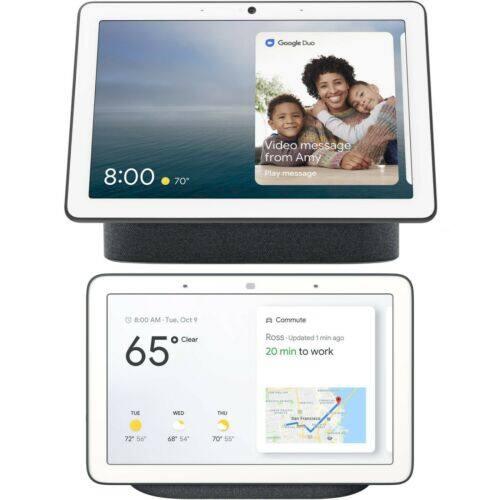 Google Nest Hub Max & Home Hub Bundle
