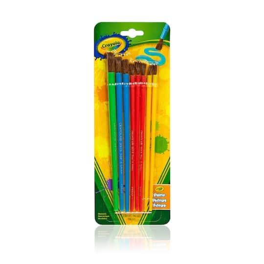 Crayola: Heavyweight Sketchbook $2.10, 8-Count Art & Craft Brush Set