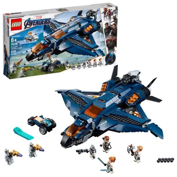 LEGO Marvel Avengers Ultimate Quinjet                                                         LEGO Marvel Avengers Ultimate Quinjet