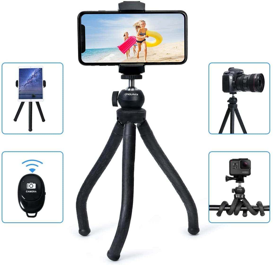 Endurax Flexible Phone Tripod