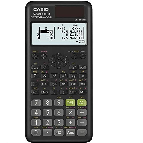 Casio fx-300ESPLS2 2nd Edition Scientific Calculator with Natural Textbook Display.
