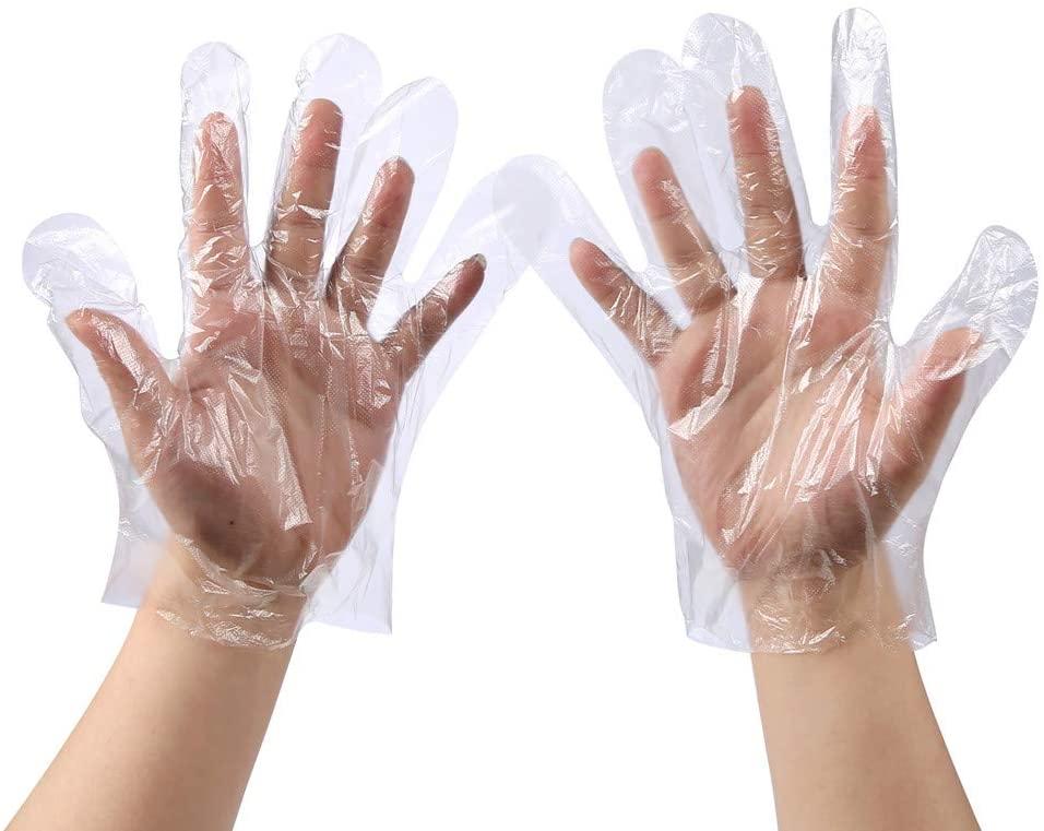 食品级一次性手套,非常时期避免直接接触电梯,门把手