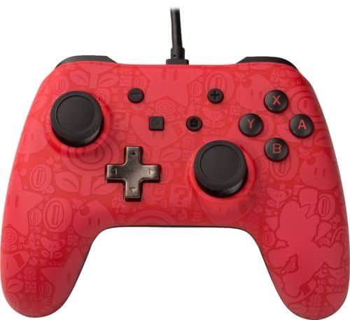PowerA Super Mario Edition Wired Controller for Nintendo Switch