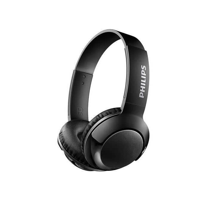 Philips BASS+ Wireless Bluetooth On-Ear Headphones