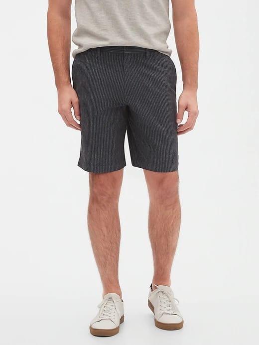Banana Republic Factory: Women's Linen Blazer $14.90, Men's Aiden Slim-Fit Shorts