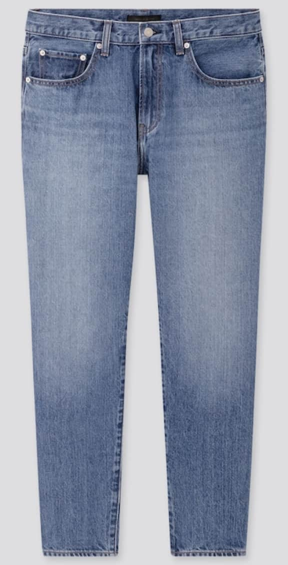 Uniqlo Men's Regular-Fit Tapered Jeans