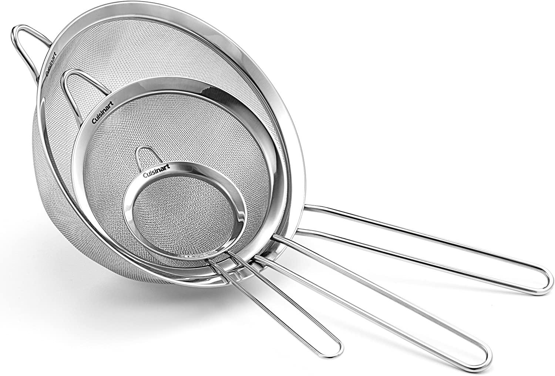 Cuisinart 3件套不锈钢过筛滤网