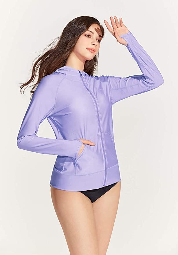 轻巧靓丽,防紫外线,舒适透气防晒衣