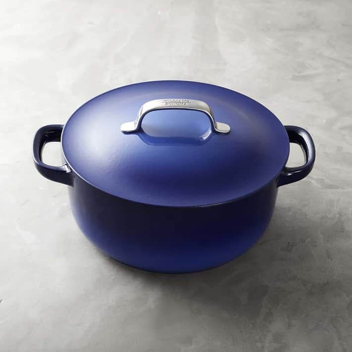 5.5-Qt Williams Sonoma Enameled Cast Iron Dutch Oven Crafted by Staub