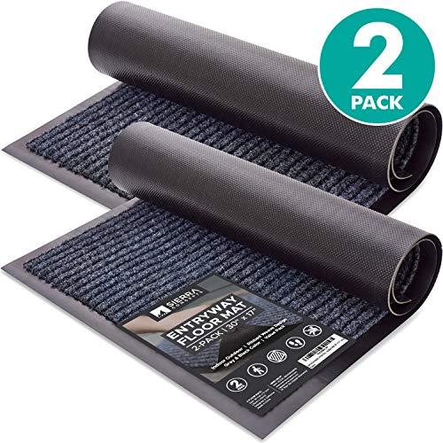 室内室外可用条纹门地板垫,维护家里地板干净