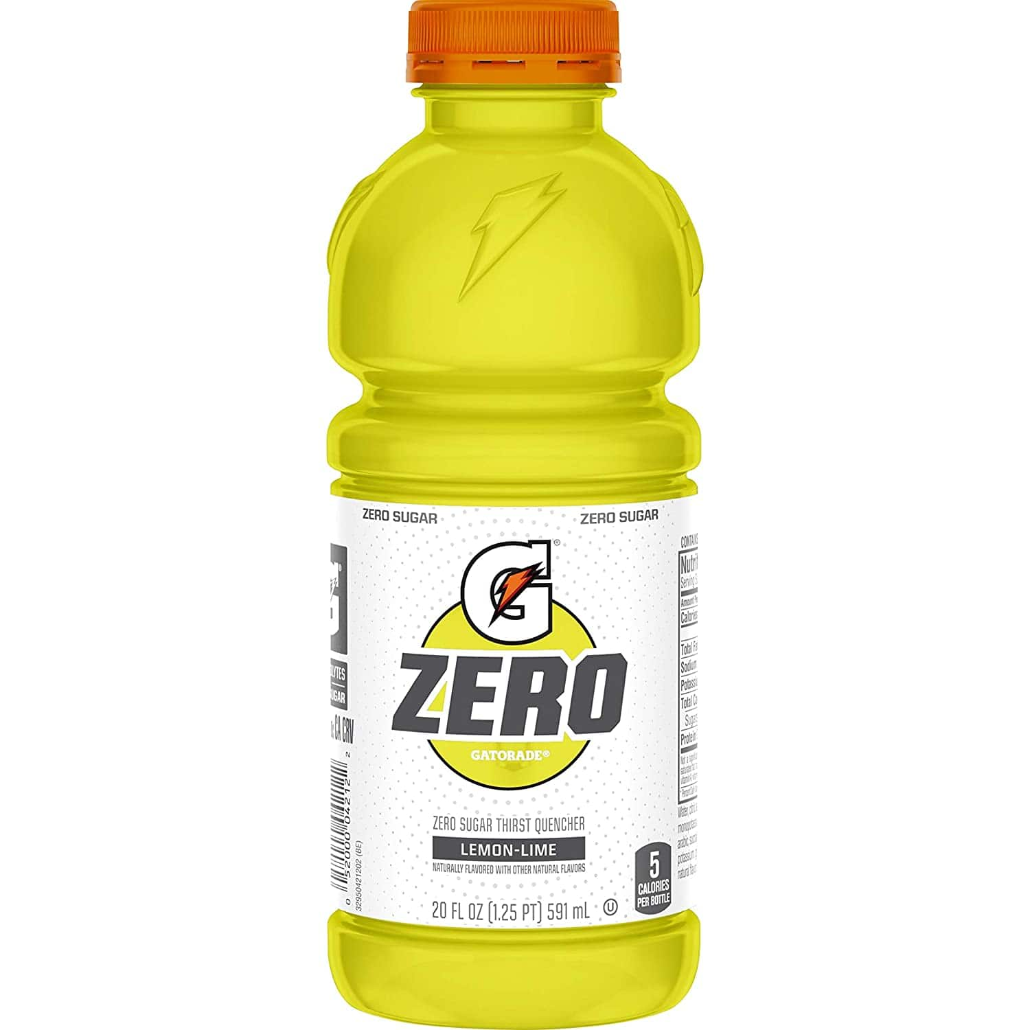 12-Pack 20-Oz Gatorade Zero Sugar Thirst Quencher (Lemon-Lime)