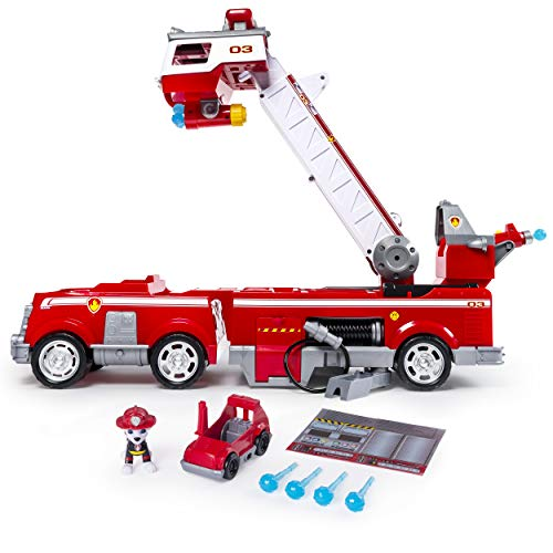 PAW Patrol狗狗巡逻队 带云梯儿童消防车玩具