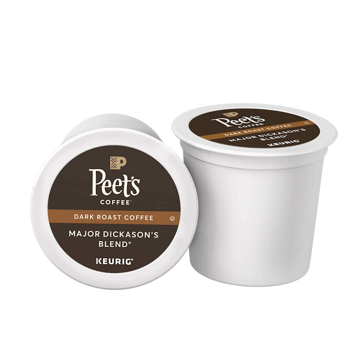 75-Count Peet's Coffee Major Dickason's Blend K-Cups (Dark Roast)