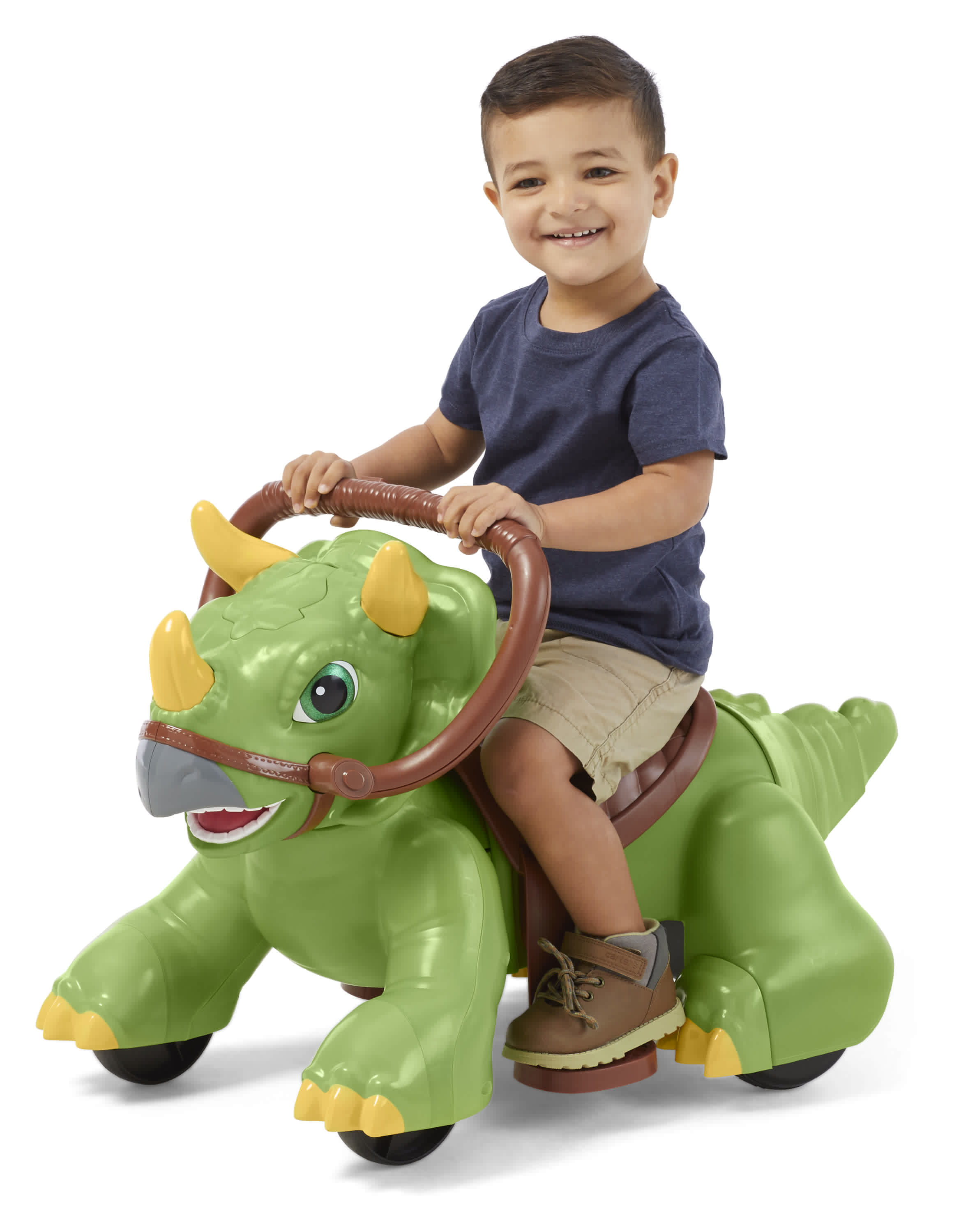 Kid Trax Rideamals Dinosaur Ride-On Toy