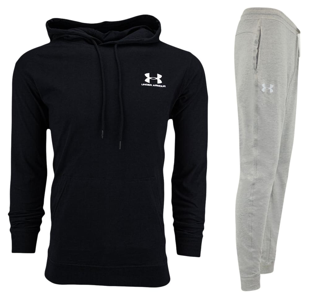 Under Armour Men's Pullover Hoodie and Jogger Bundle