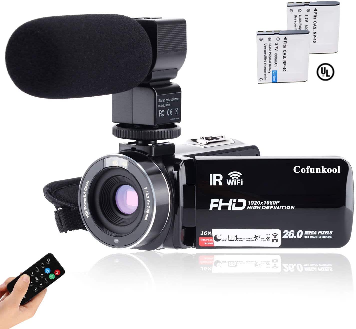 CofunKool 1080p Camcorder