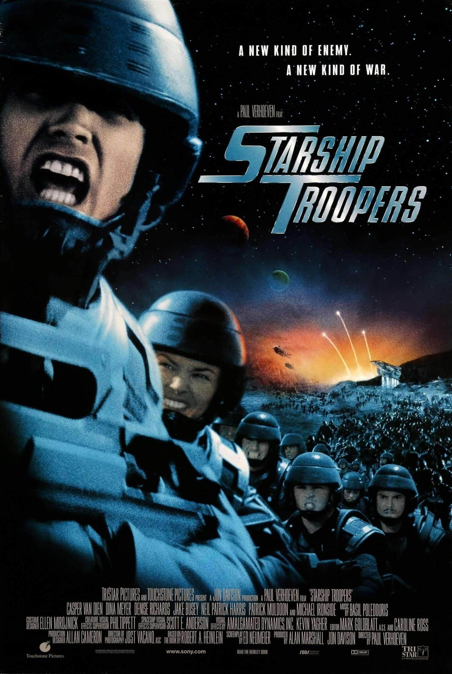 Digital HD Movies: Starship Troopers, Casino, American Gangster, 8 Mile & More