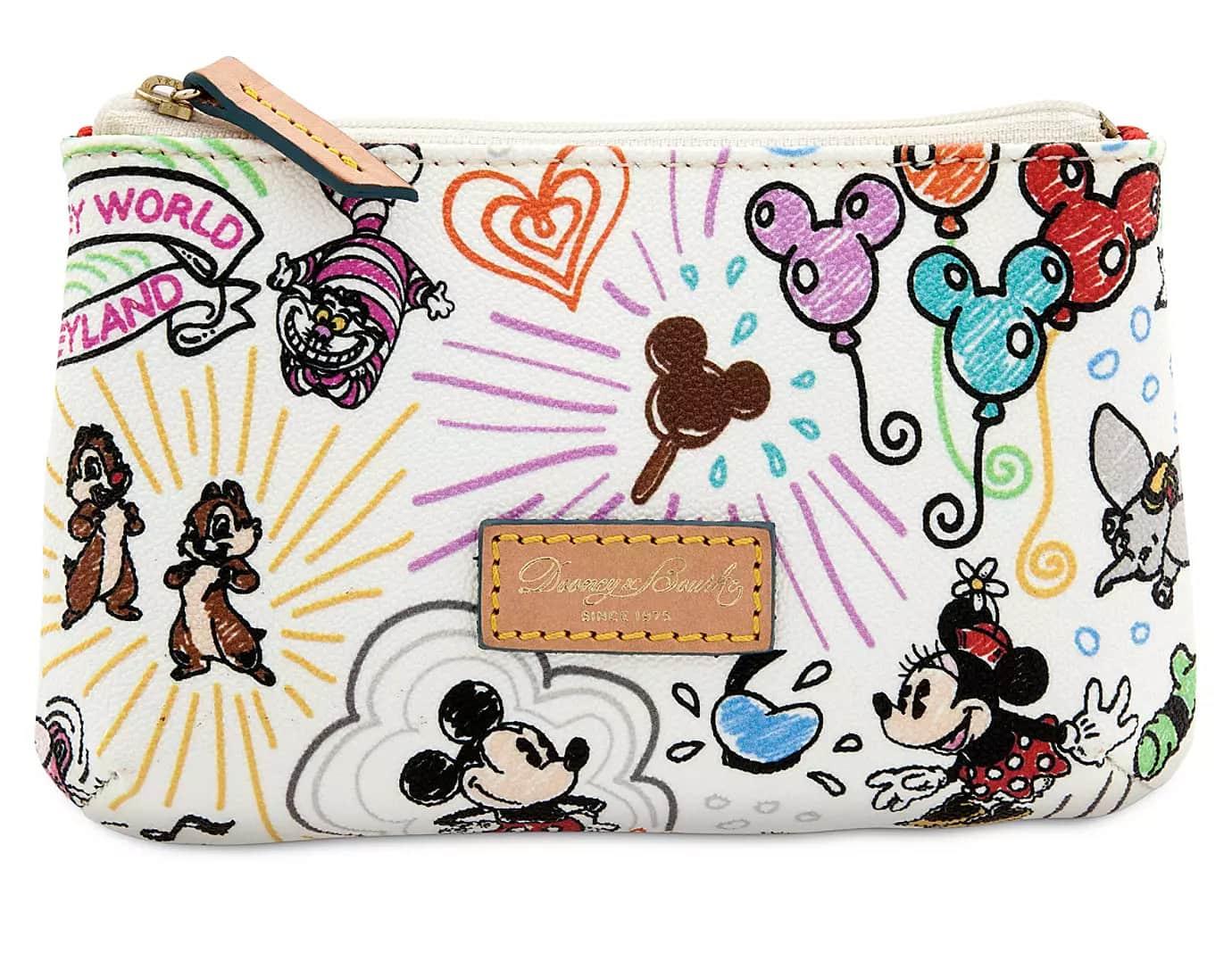 Disney Sketch Cosmetic Case by Dooney & Bourke
