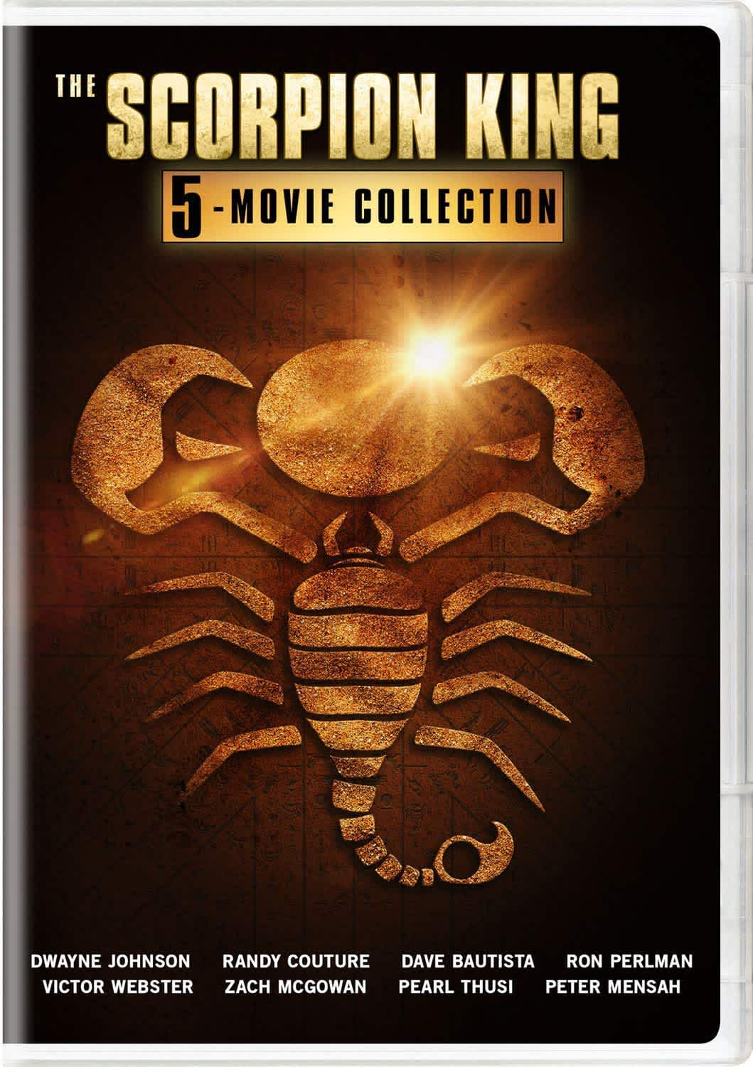 Scorpion King: 5-Movie Collection on DVD