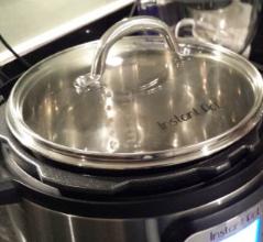 销量冠军!史低价!Instant Pot 电高压锅钢化玻璃盖