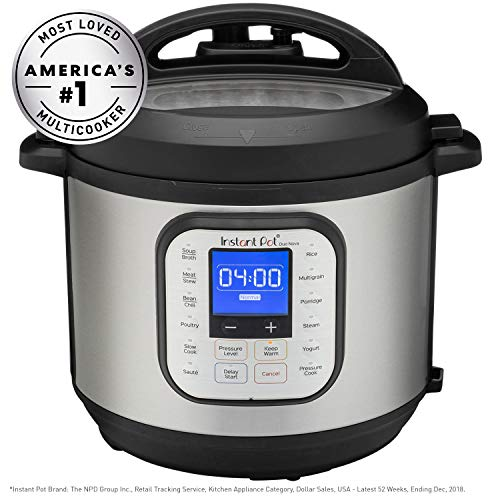 Instant Pot DuoTM NovaTM 6-Quart 7-in-1, One-Touch Multi-Use Programmable Pressure Cooker, Slow Cooker, Rice Cooker, Steamer, Sauté, Yogurt Maker and Warmer with New Easy Seal Lid