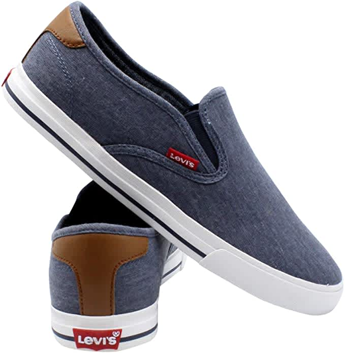Levi's Men's Seaside CT Slip-On Sneakers