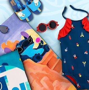 shopDisney网站精选泳装、玩具等专场满额最高享75折
