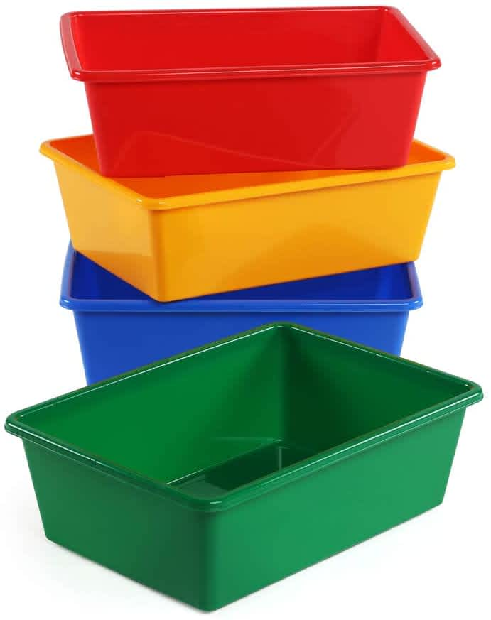 Humble Crew Large Storage Bin 4-Pack