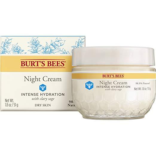 Burt's Bees 小蜜蜂 水之初赋活补水晚霜,1.8oz
