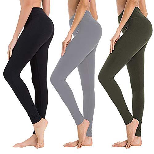 高腰遮小腹的瑜伽裤,3条/套