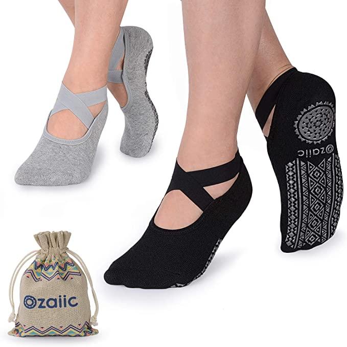 防滑瑜伽袜子,非常适合普拉提,芭蕾