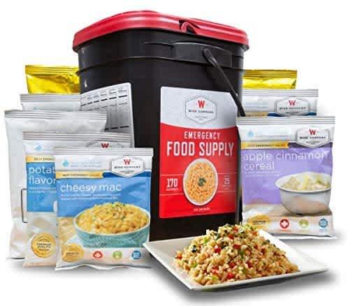 Wise Company 170-Serving Emergency Food Preparedness Kit