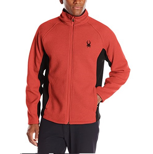 Spyder Men's M Constant Full Zip Mid Weight Stryke Fleece