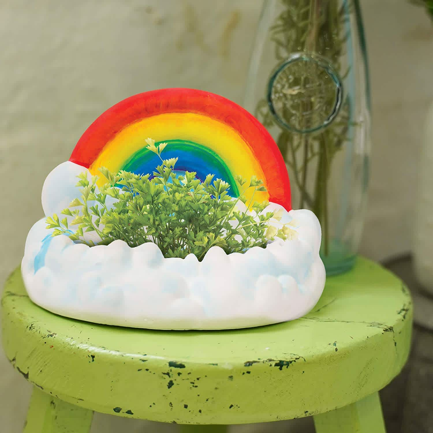 Creative Roots Paint Your Own Rainbow Planter