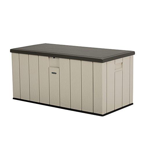 史低价!LIFETIME 超耐用 150加仑容量 户外收纳箱