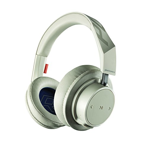 Plantronics BackBeat GO 600 Noise-Isolating Headphones, Over-The-Ear Bluetooth Headphones, Khaki