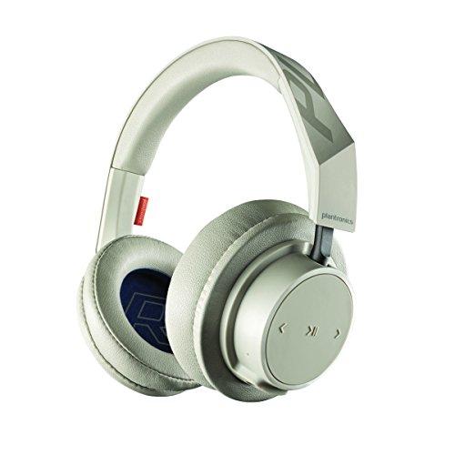 Plantronics BackBeat GO 600 Noise-Isolating Headphones, Over-The-Ear Bluetooth Headphones, Khaki