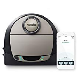 Neato Robotics D7 Connected Laser Guided Robot Vacuum, Works with Amazon Alexa
