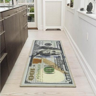 土豪必备! Ottomanson 100美元图案地毯
