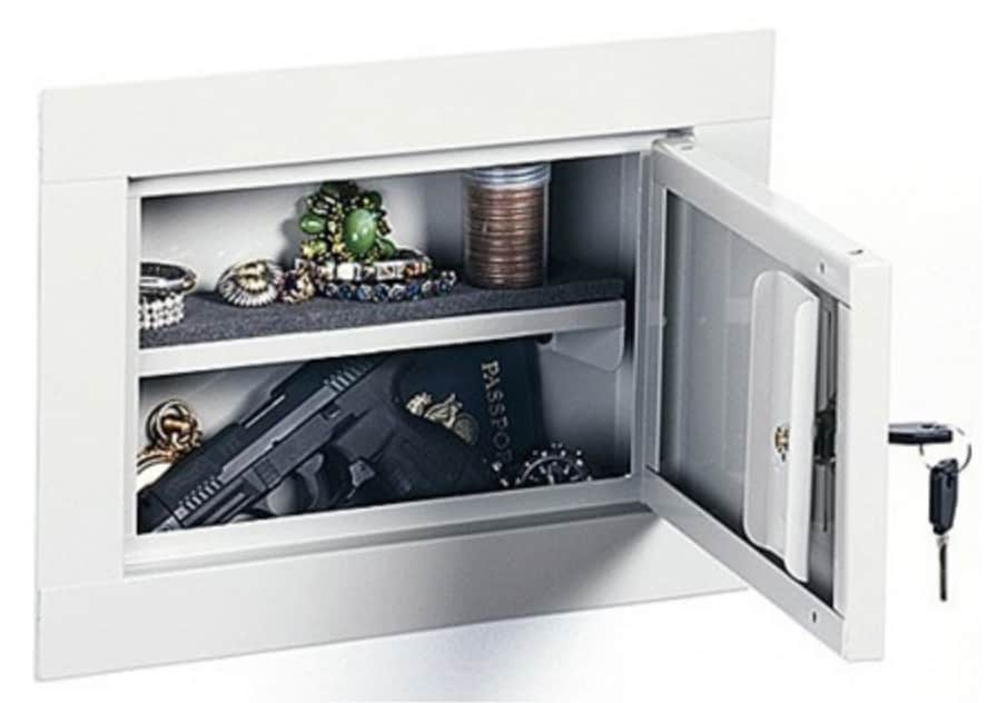 Stack-On Small In-Wall Security Cabinet
