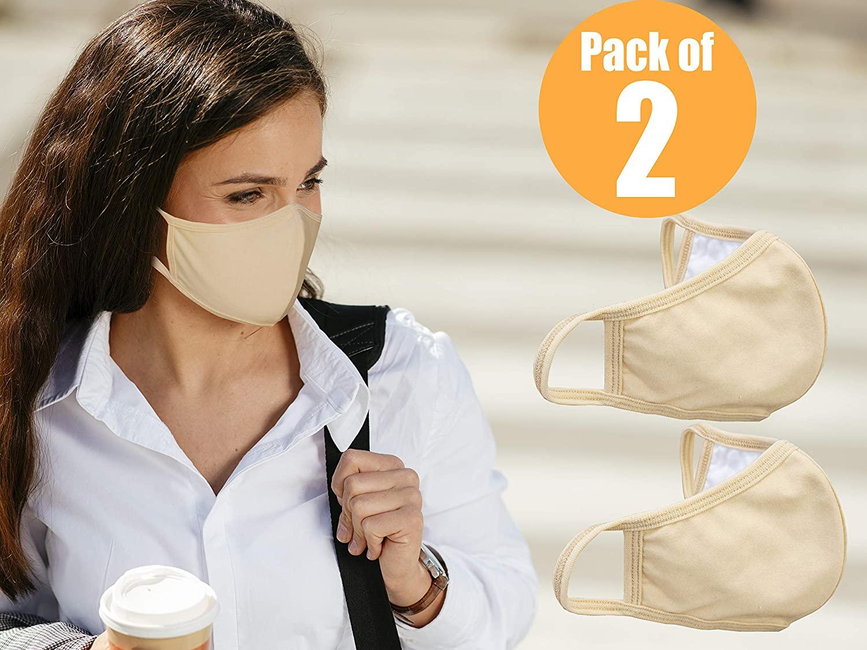 优质柔软棉质防水口罩,可重复使用