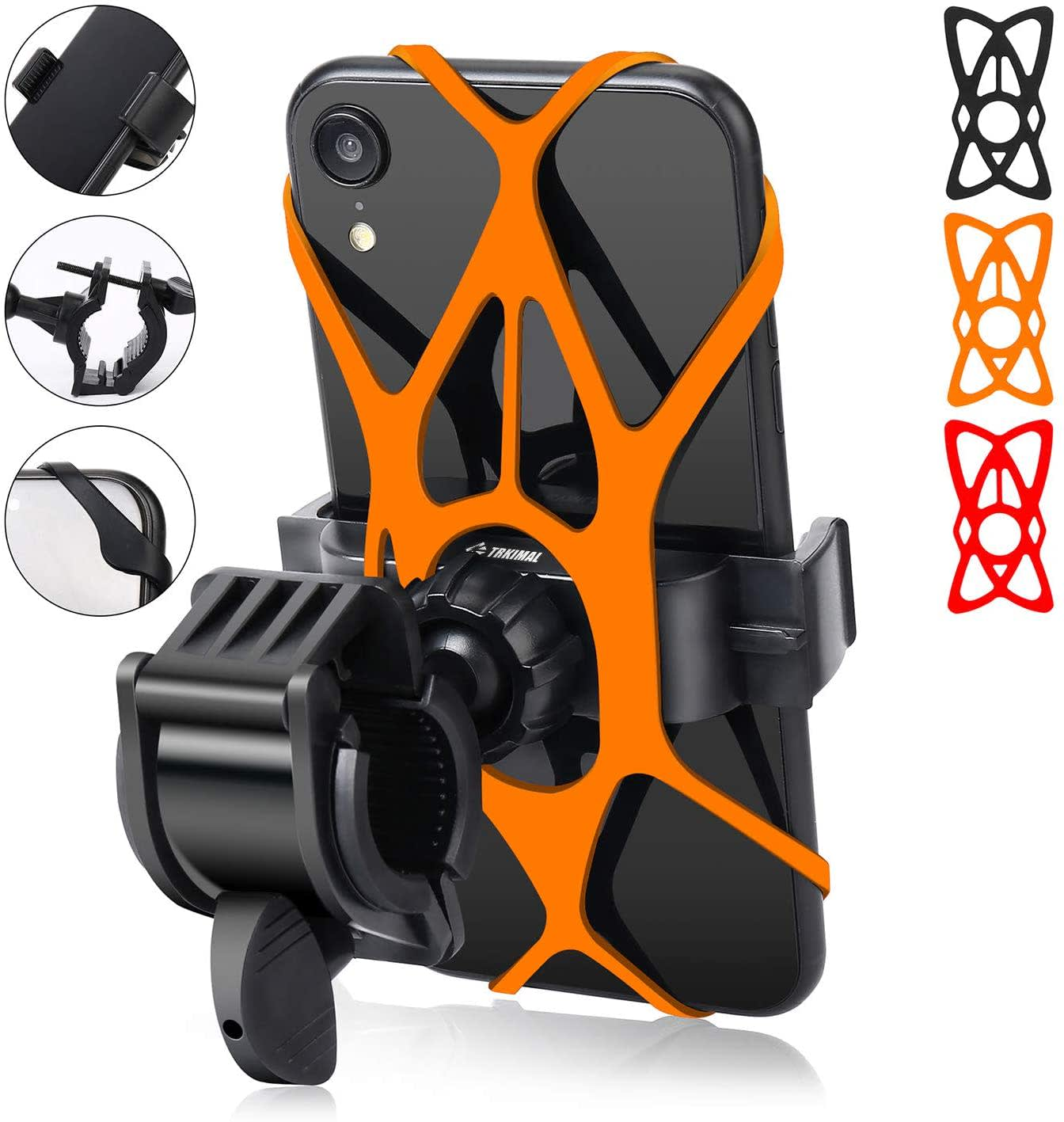 Trkimal Universal Bike Phone Mount