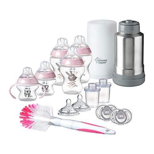 齐活! Tommee Tippee 汤美天地母乳自然新生儿防胀气奶瓶 +温奶器 等套装