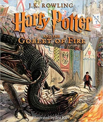 Harry Potter and the Goblet of Fire: The Illustrated Edition (Hardcover Book)