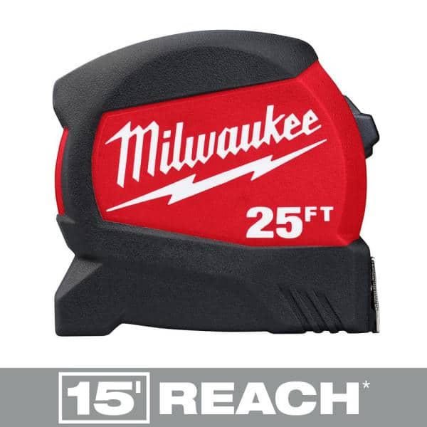 Milwaukee 25' Compact Wide Blade Tape Measure