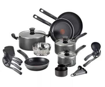 Cookware Sets: T-Fal Culinaire 16-Piece Nonstick Aluminum