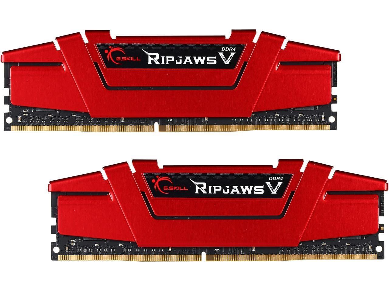 32GB (2x16GB) G.SKILL Ripjaws V Series DDR4 3200 Desktop Memory