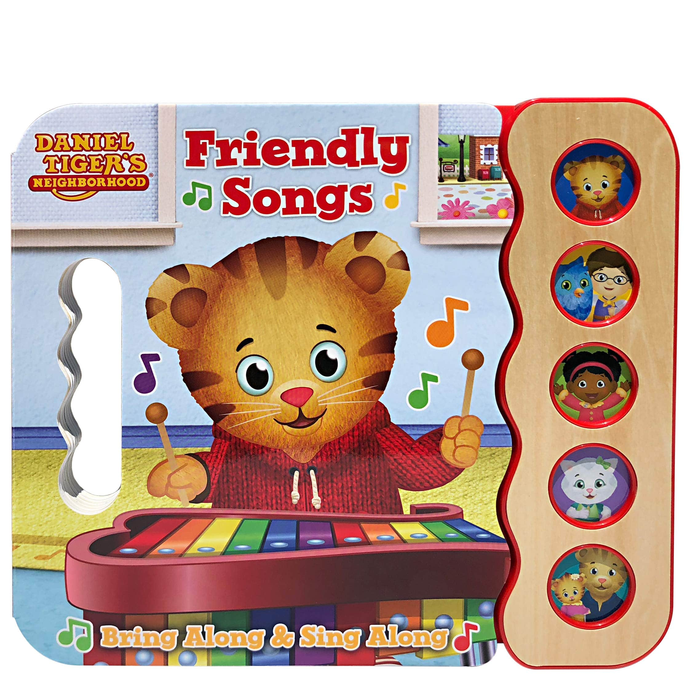 Daniel Tiger's Friendly Songs: Daniel Tiger's Neighborhood (Sing-A-Long Board Book)