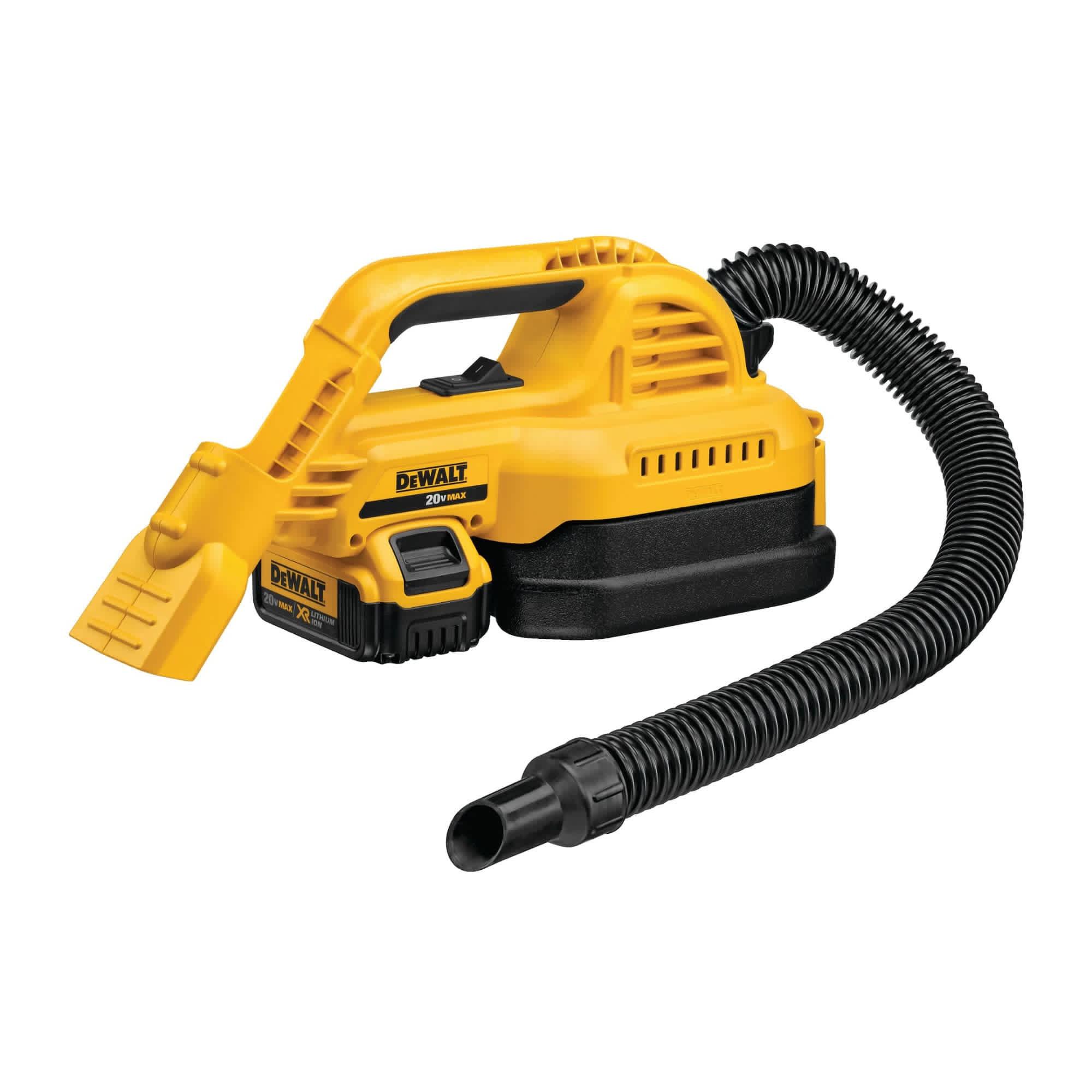 DeWalt 20V Max 1/2-Gallon Wet/Dry Portable Vacuum Kit